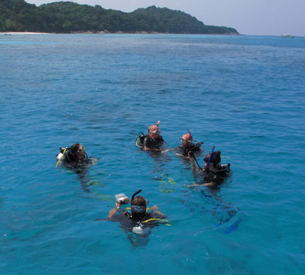 PADI Advanced Open Water at Koh Tachai