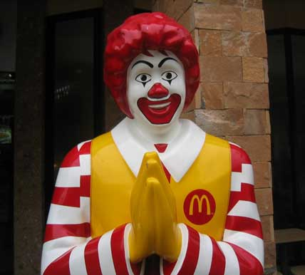 is ronald mcdonald sustainable tourism in thailand